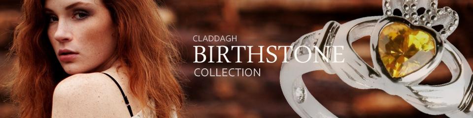 Claddagh Birthstone