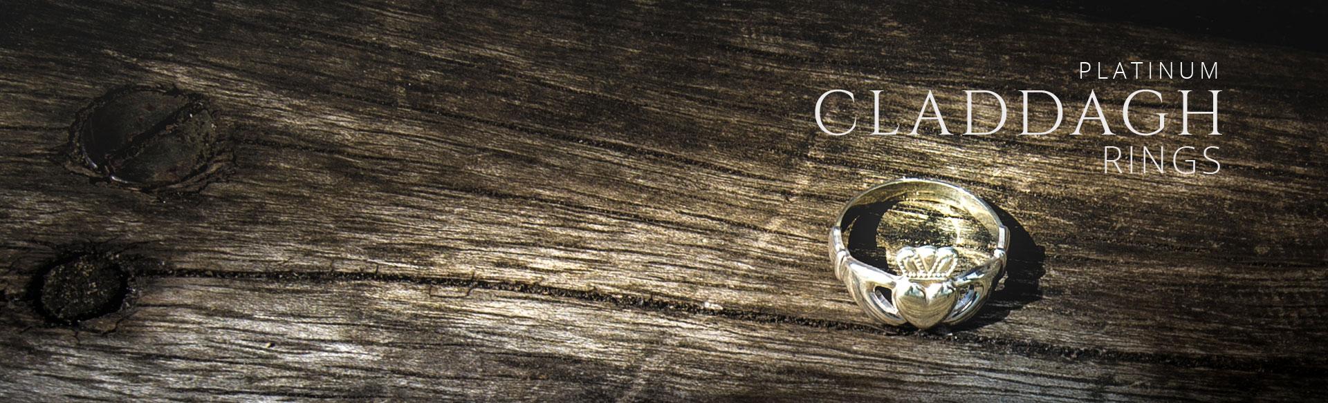 Platinum Claddagh Rings