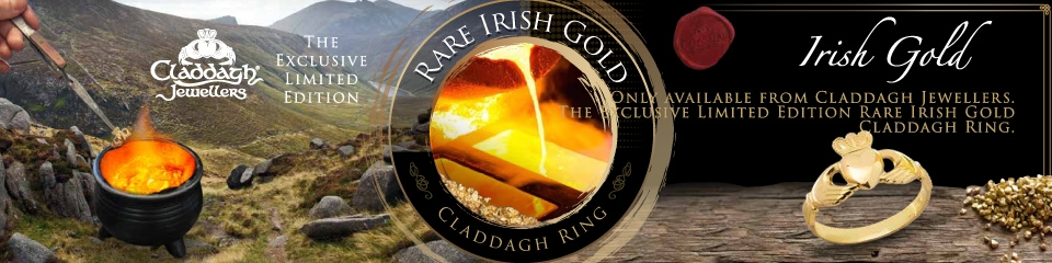 Rare Irish Gold Claddagh Rings