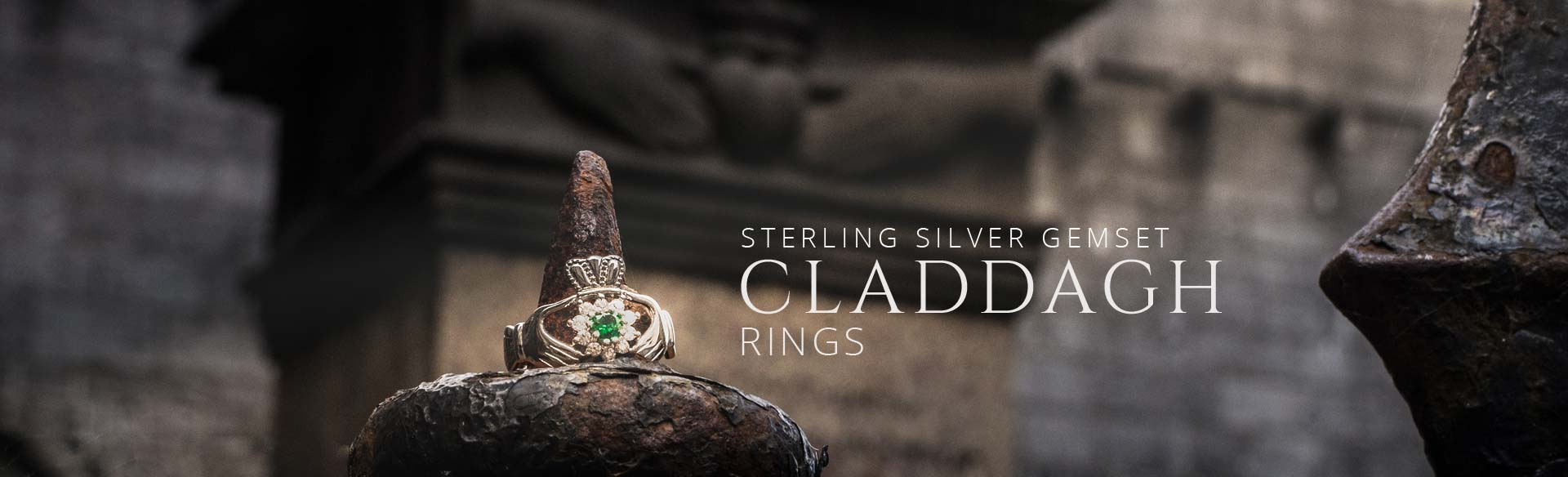 Sterling Silver Gem Set