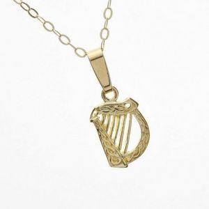 irish-harp-necklace