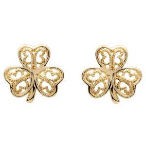10kt-gold-shamrock-filigree-earrings