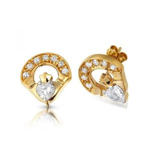 9kt-yellow-gold-claddagh-stud-earrings-with-cz-stones