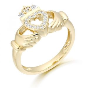 9kt-cz-claddagh-ring-in-yellow-gold