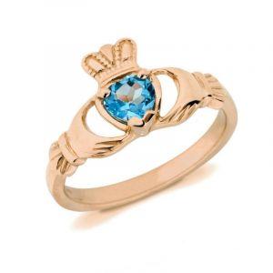 10kt-rose-gold-natural-blue-topaz-claddagh-birthstone-ring-1