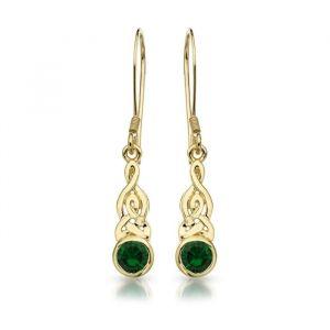 9kt-yellow-gold-trinity-knot-celtic-weave-earrings