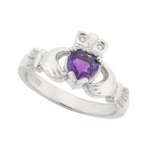 amethyst-claddagh-ring-in-14kt-white-gold