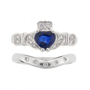 ashford-5-stone-claddagh-wedding-set-in-platinum-and-sapphire
