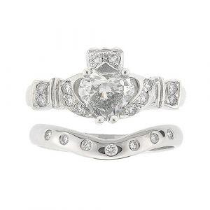 ashford-7-stone-claddagh-wedding-set-in-14-karat-white-gold-and-diamond