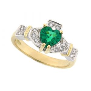 ashford-emerald-claddagh-ring-in-14-karat-yellow-gold