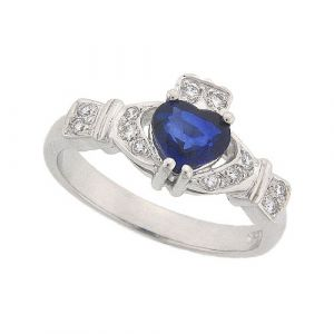 ashford-sapphire-claddagh-ring-in-platinum