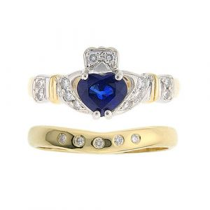 ashford-sapphire-claddagh-wedding-set-in-14kt-yellow-gold