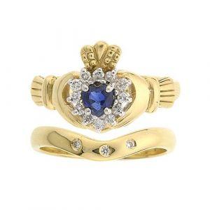 cashel-claddagh-wedding-set-in-sapphire