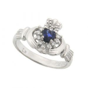 cashel-sapphire-claddagh-ring-in-14-karat-white-gold