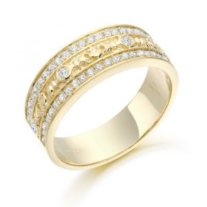 celtic-and-claddagh-gold-cz-ring