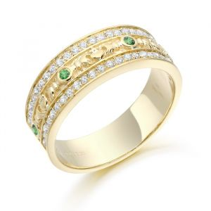 celtic-and-claddagh-gold-ring