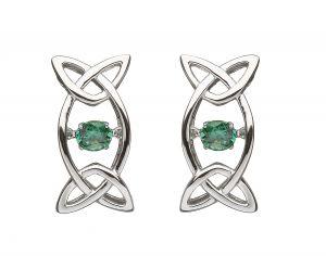 trinity-knot-emerald-dancing-stone-earrings