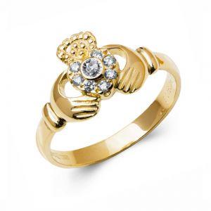 14kt-Yellow-Gold-Diamond-Claddagh-Ring
