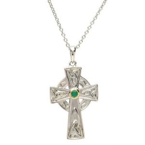 Celtic-Cross-with-Trinity-Knot-Design