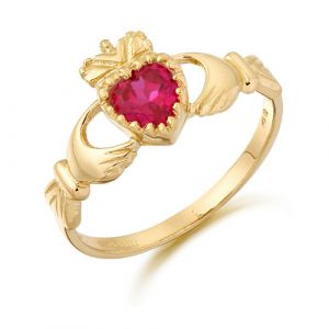 red-cz-claddagh-ring-in-9-karat-gold