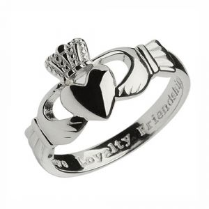 gents-sterling-silver-heavy-weight-claddagh-ring