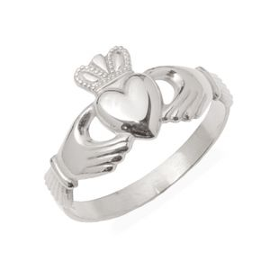 gents-white-gold-traditional-claddagh-ring