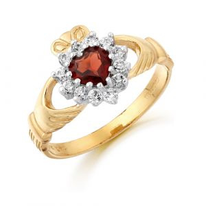 gold-cluster-claddagh-ring-with-deep-red-cz