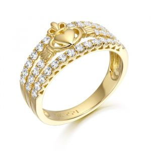 gold-micro-pave-claddagh-ring