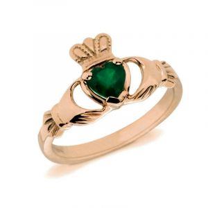 gold-natural-onyx-claddagh-birthstone-ring-1