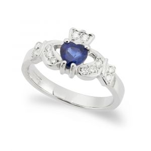 kinvara-claddagh-ring-in-18-karat-white-gold-and-sapphire