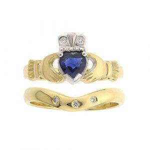 kylemore-3-stone-wedding-set-in-18-karat-yellow-gold-and-sapphire