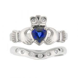 kylemore-7-stone-wedding-set-in-14-karat-white-gold-and-sapphire