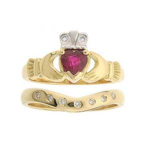 kylemore-7-stone-wedding-set-in-18-karat-yellow-gold-and-ruby