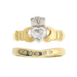 kylemore-diamond-claddagh-wedding-set-in-18-karat-yellow-gold
