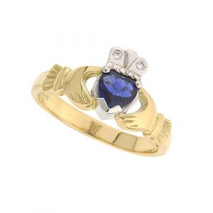 kylemore-sapphire-claddagh-ring-in-18-karat-yellow-gold
