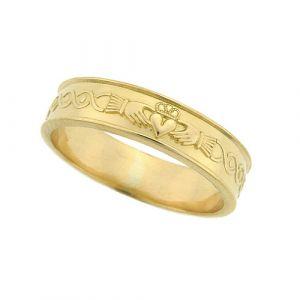 ladies-flat-scroll-wedding-ring-in-18-karat-yellow-gold