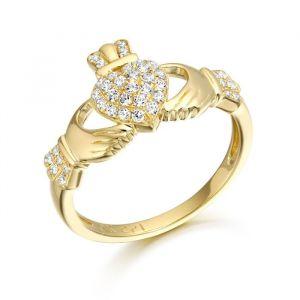 micro-pave-gold-irish-claddagh-ring