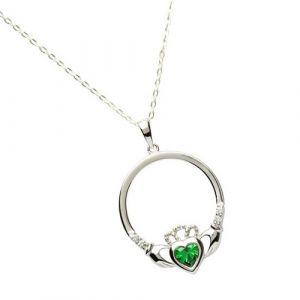 may-birthstone-claddagh-pendant