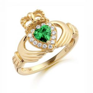 claddagh-ring-with-green-clear-cz-in-micro-pave-setting