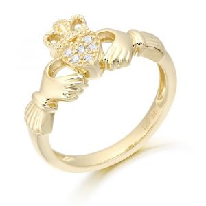 micro-pave-set-gold-claddagh-ring-in-9kt-yellow-gold