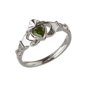 Modern-May-Birthstone-Claddagh-Ring