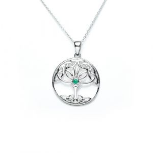 open-tree-of-life-green-cz-pendant-and-chain