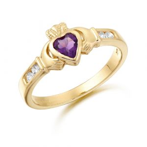 petite-gold-claddagh-ring-with-deep-purple-cz