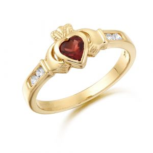 petite-gold-claddagh-ring-with-deep-red-cz