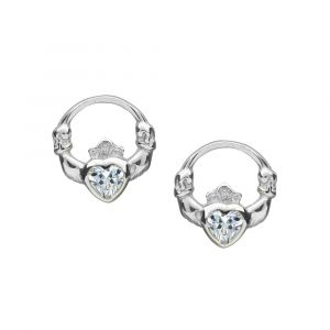 small-sterling-silver-claddagh-studs-with-cz