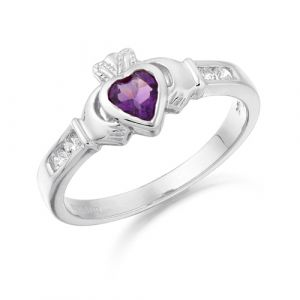 small-white-gold-claddagh-ring-with-purple-cz