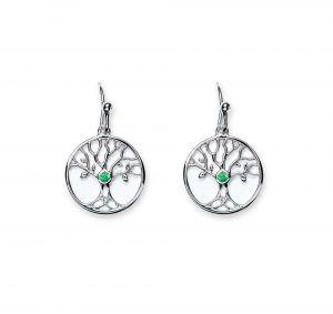 trinity-knot-cz-emerald-tree-of-life-earrings