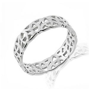 white-gold-trinity-knot-band