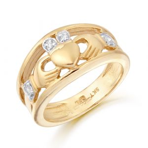 wide-band-gold-claddagh-ring-with-cubic-zirconia