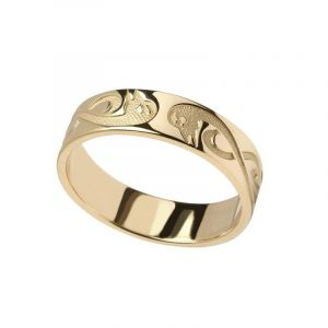 10kt-Yellow-Gold-Gents-Celtic-Wedding-Band